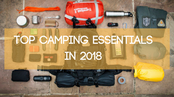 Camping must-haves 2018_Grizzlytarps.com