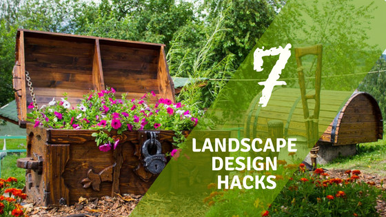 7 Landscape design Hacks by Grizzlytarps.com
