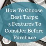 How to choose best tarps